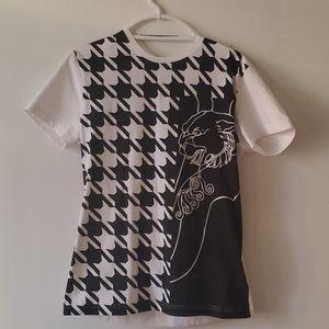 Versace houndstooth tshirt